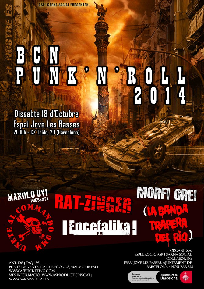 BCN PUNK'N'ROLL 2014