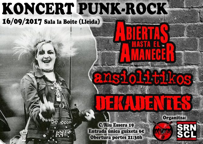 Koncert Punk-Rock